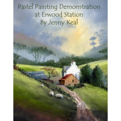 DVD Pastel Demonstration at Erwood Station