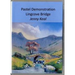 Pastel Demonstration - Lingcove Bridge DVD by Jenny Keal