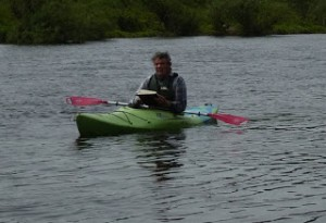 Sketching in a kayak sm