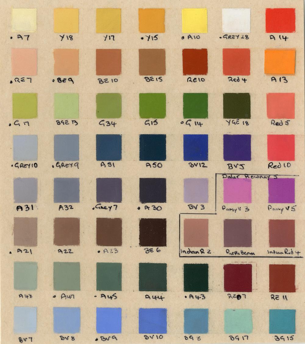 colour chart 2