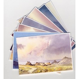 Pack of Mixed Greetings cards by David Bellamy