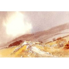 Pembrokeshire Cottage Card (Pack of 4 )