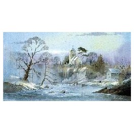 St.Cewydd's Card (Pack of 4)