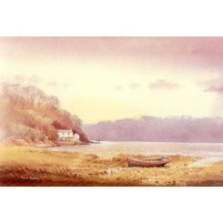 Dylan Thomas Boathouse Card (Pack of 4)