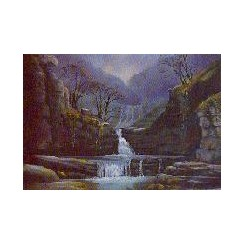 Scwd Isaf Clungwyn Card (Pack of 4)