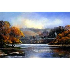 Llanstephan Bridge Card (Pack of 4)
