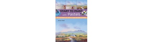 Jenny Keal's Painting with Pastel Book is currently out of print but is being reprinted soon.